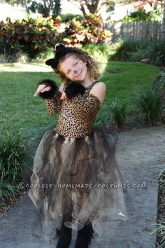 Adorable Kitty Costume for a Girl... Coolest Halloween Costume Contest