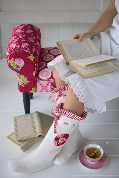 Tilda felt slipper boots tutorial - From Tilda's Studio from @Ruth Craft