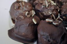 chocolate covered chocolate balls