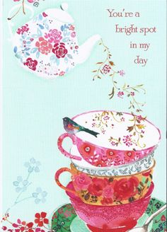 bird, art illustrations, tea time, random quotes, bright spot