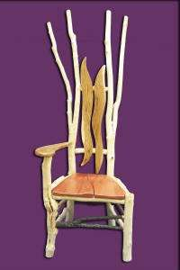 Twig Furniture - Jerry Tomasek's Unique Designs Using Sticks Found in the Woods (GALLERY)