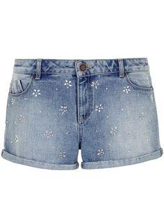 Lola Skye Embellished High Waist Short