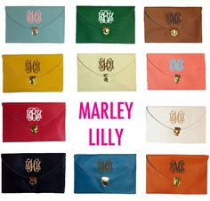 Monogrammed Gifts Galore!