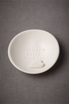 I Couldn't Heart You More Dish in SHOP Gifts For the Bridesmaids at BHLDN $38.00