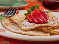 "Take your taste buds on a journey south of the border with this #recipe for Mexican Toast that includes flour tortillas and a kiss of cinnamon. It's the ideal way to start your day with an ""Ole!"" #Breakfast"