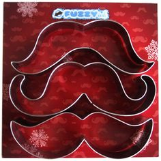 mustache cookie cutters
