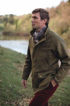 Harris Tweed Shooting Coat...coat optional...man a yes!