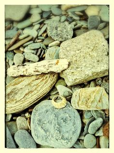 Stones on Dunoon beach