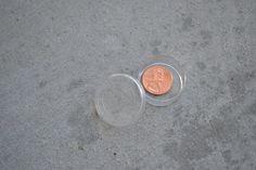 Shiny new penny - baptism talk. Great idea!