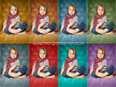 Change the background colour of a photo