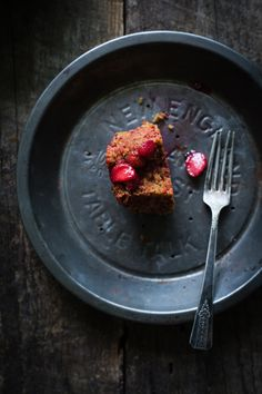 Beetroot Cake with Strawberries from Paris Pastry Club
