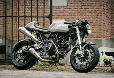 Flying Hermans' Ducati Cafe Racer. (via the Bike Shed» Flying Hermans' Ducati Cafe Racer)