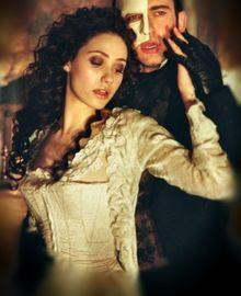 The Phantom of the Opera <3  Emmy Rossum and Gerard Butler