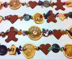 Lemonade: Primitive Christmas Tree Garland