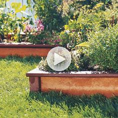 Find materials for easy to make raised garden beds! Watch here: http://www.bhg.com/videos/m/85136388/materials-for-raised-garden-beds.htm?socsrc=bhgpin081314materialsforraisedgardenbeds