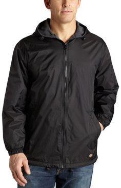Dickies Men's Fleece Lined Hooded Jacket