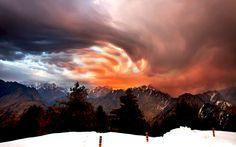 Sky on Fire by Jassi Oberai, via 500px jassi oberai