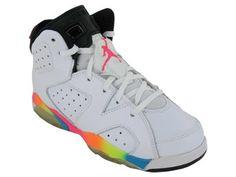 Nike Kids NIKE AIR JORDAN 6 RETRO (PS) BASKETBALL SHOES