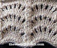 The Weekly Stitch: Scallop Stitch