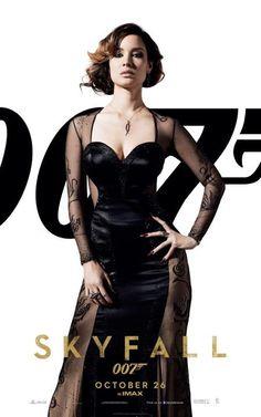 UK Skyfall 007 poster for Severine. #skyfall #007 #jamesbond