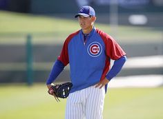 Anthony Rizzo (shown here during Cubs' spring training) will make his Cubs debut Tuesday against the Mets