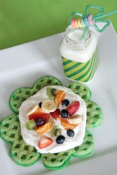 Lots of St. Patrick's Day food ideas! (from Mandy Douglass)