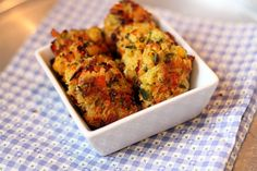 Veggie Nuggets for Kids  Ingredients  8 oz (half a bag) frozen mixed veggies (carrots, peas, corn, green beans, & lima beans)  1 egg  1/2 cup panko bread crumbs  1/2 tsp salt  1/4 tsp garlic powder  Juice of 1/2 small lemon  1 1/2 tablespoons olive oil