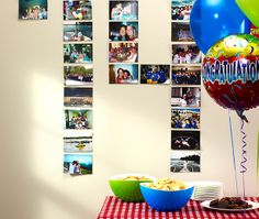 How-to: Grad Party Photo Wall
