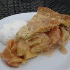 Honey-Poached Quince Pie Allrecipes.com