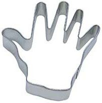 Right Hand cookie cutter -  50 Shades of Grey party