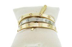Cartier Love Bracelet...in lieu of a wedding band.