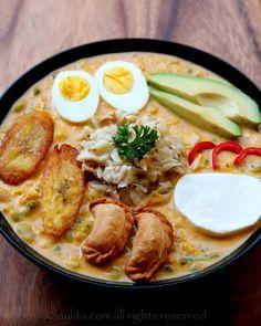Fanesca or Ecuadorian Easter soup recipe - With step by step photos
