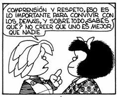 Mafalda... la honestidad, mafalda, cita, palabra, frase, quino, pensamiento, respeto, quot