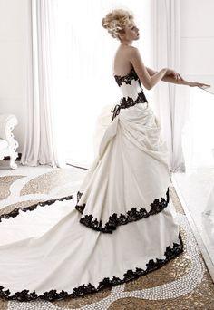 Me encanta el corsé de este vestido de #novia