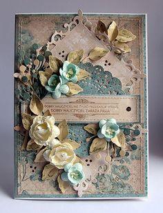 color, dorota kopec, creat card, craft idea, dorotamk