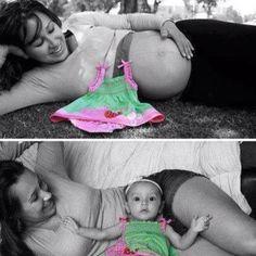 idea, color, outfit, matern portrait