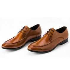 Genuine Leather Lace Up Dress Shoes | Sneak Outfitters