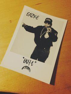 Eazy-E official Fan Club photo! #RespectTheClassics
