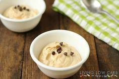 Frozen almond butter mousse #paleo #lowcarb #grainfree
