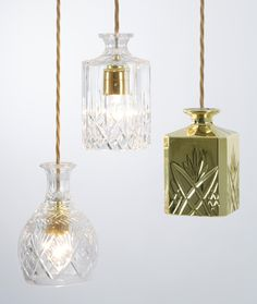 Decanterlight by Lee Broom for the Stepney Green Design Collection