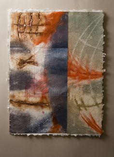 Nancy Childs   Modern Arts   Contemporary Fine Art Gallery   Printmaking on handmade paper