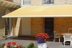 Retractable Awning Contemporary with no valance
