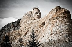 Thanks to Chuck Ignarski Jr. for this photo of Crazy Horse Memorial, Black Hills, S.D.