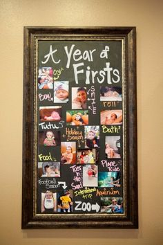 7 ways to record baby's first year milestones -- would probably do this instead of scrapbook since there will be no time in the world for that committment