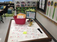 Meet the Teacher night ideas and organization :: Tunstall's Teaching Tidbits: Ready or Not...Meet the Teacher!