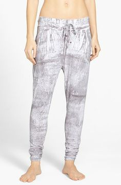 Omgirl 'Tranquility - Printmaker's Wash' Cotton Pants available at #Nordstrom