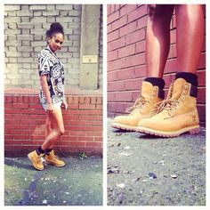 Can't beat the classic Timberland look (Instagram photo credit: @Womens Office)