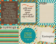 Free September Journal Cards for Project Life from eyeinspire