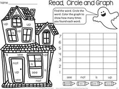 Free Halloween fun! Language and Math rolled into the one engaging activity!