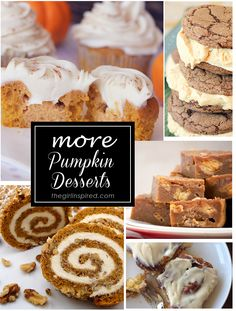 Number one thing to love about this coming season ~ Everything pumpkin!! Here's a list of 20 of the best pumpkin dessert recipes from around the web.